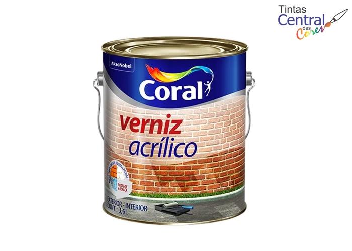 Verniz Acrílico Coral