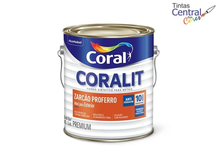 Coralit Fundo Zarcão Proferro