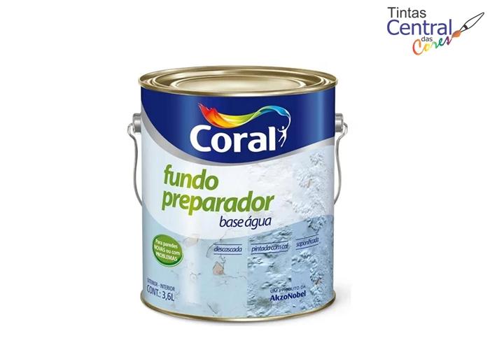 Fundo Preparador Base Água Coral