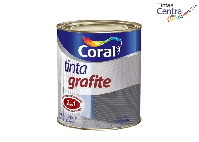 Tinta Grafite Coral