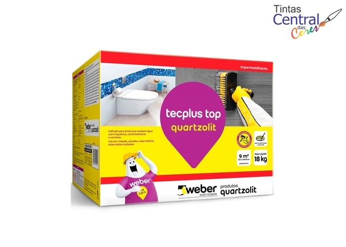 Impermeabilizante Tecplus Top Quartzolit